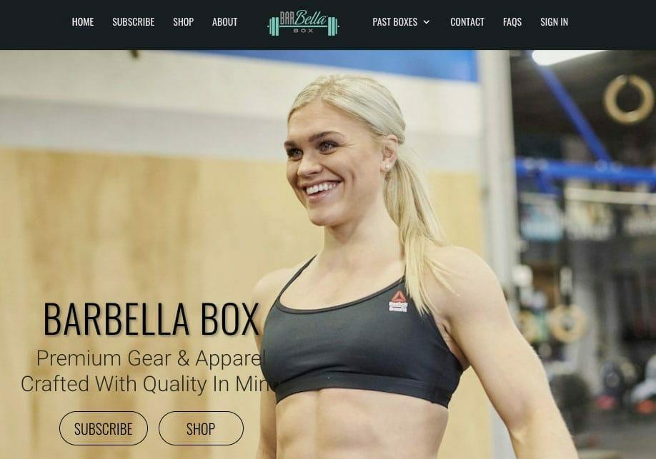 barbellabox crossfit subscription gift box