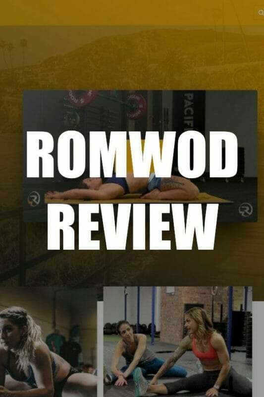ROMWOD Review - CrossFit Mobility WOD website