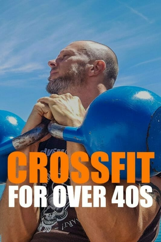 CrossFit training for over 40s athletes