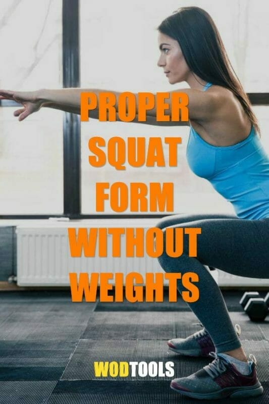 Proper Squat without weights form