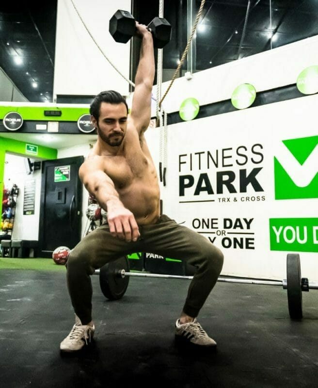 Crossfit Dumbbell Snatches