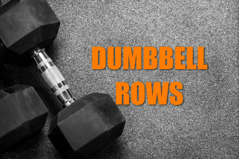 Crossfit Single Dumbell Rows Exercise 1
