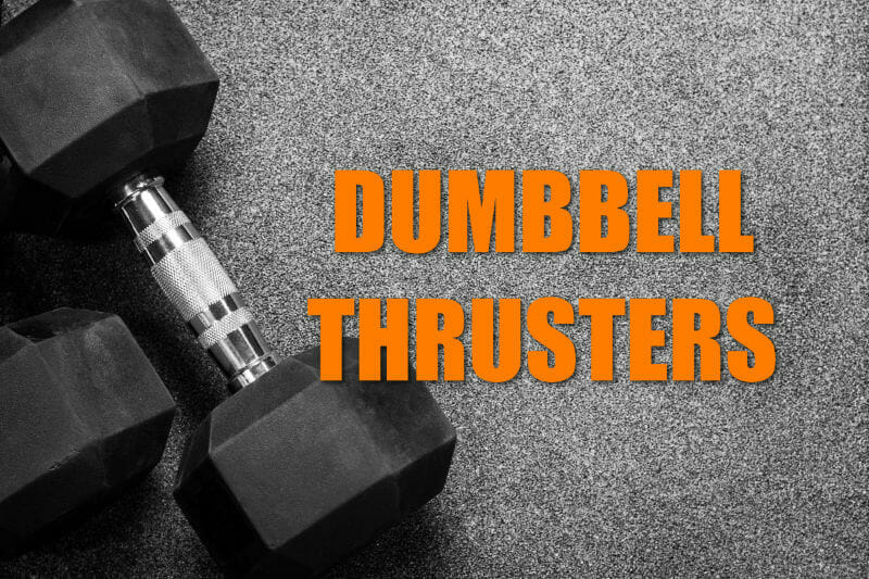 Single Arm Dumbbell Thrusters