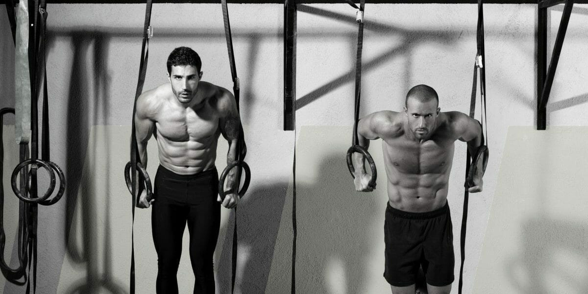CrossFit Partners doing a workout