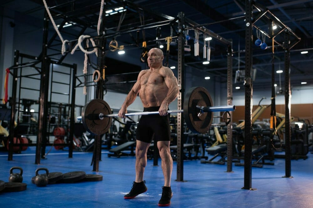 CrossFit clean olympic movement