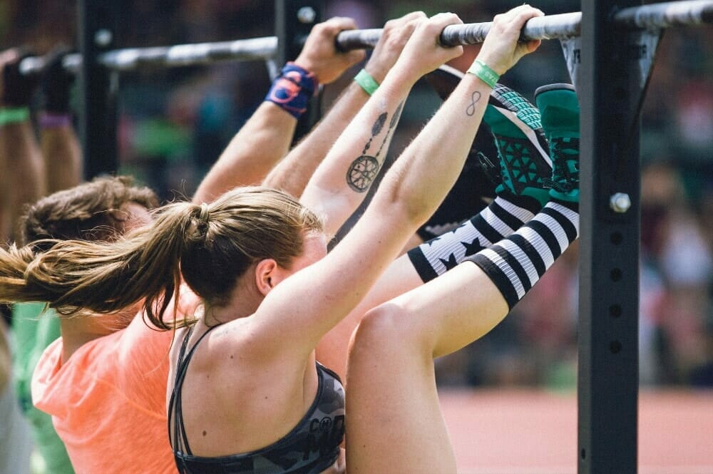 Crossfit Toes To Bar