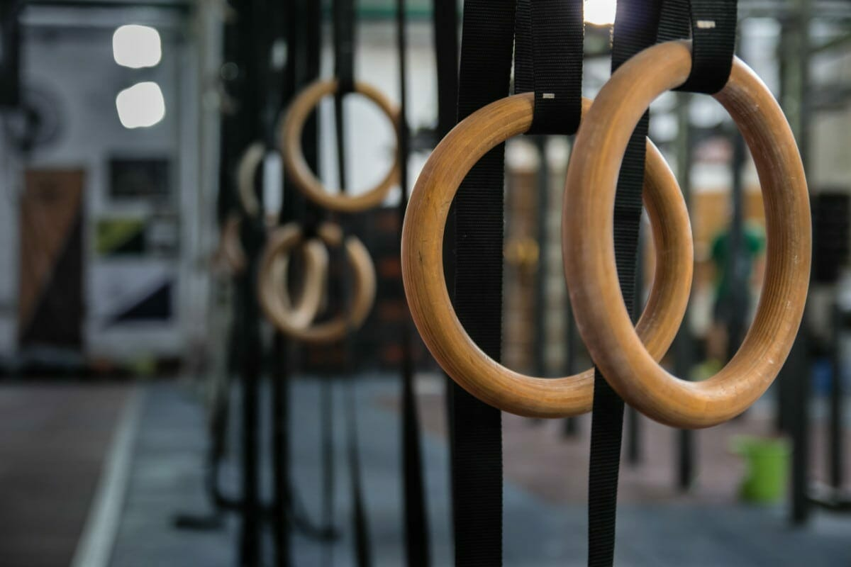 Gymnastics Rings In The Gym