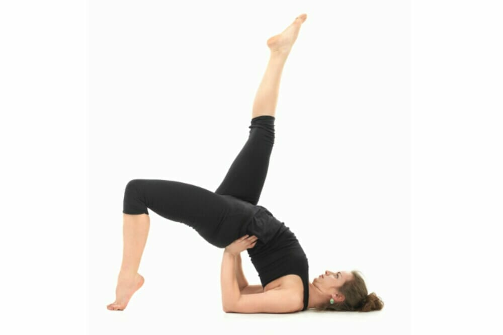 Single Leg Glute Bridge Exercise