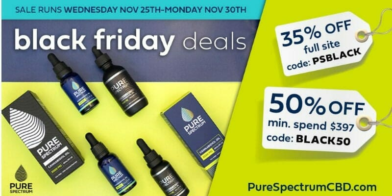 Pure Spectrum 50 Percent Sales