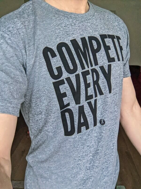 Compete Every Day Classic Workout Tshirt