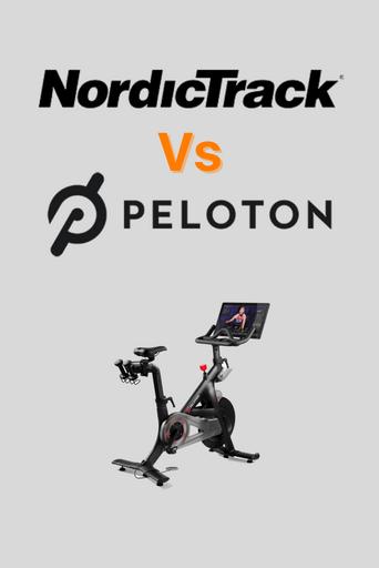 nordictrack vs peloton comparison pinterest
