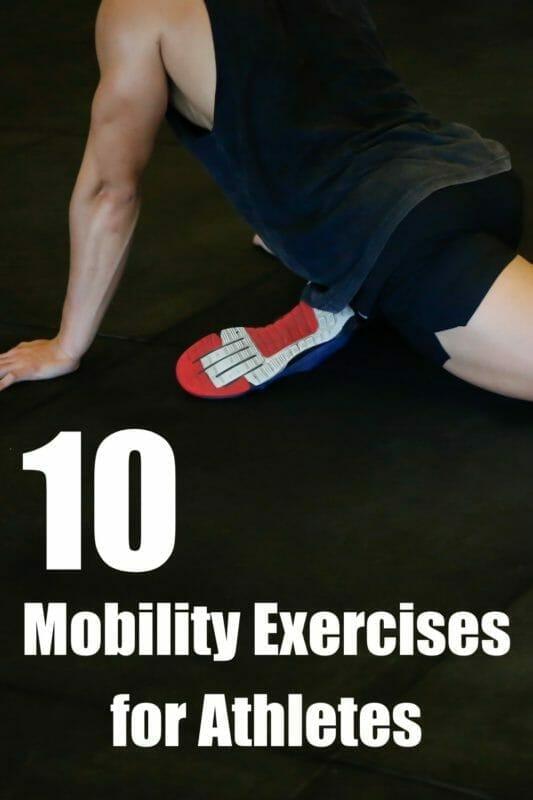 10 mobility exercises for athletes pinterest