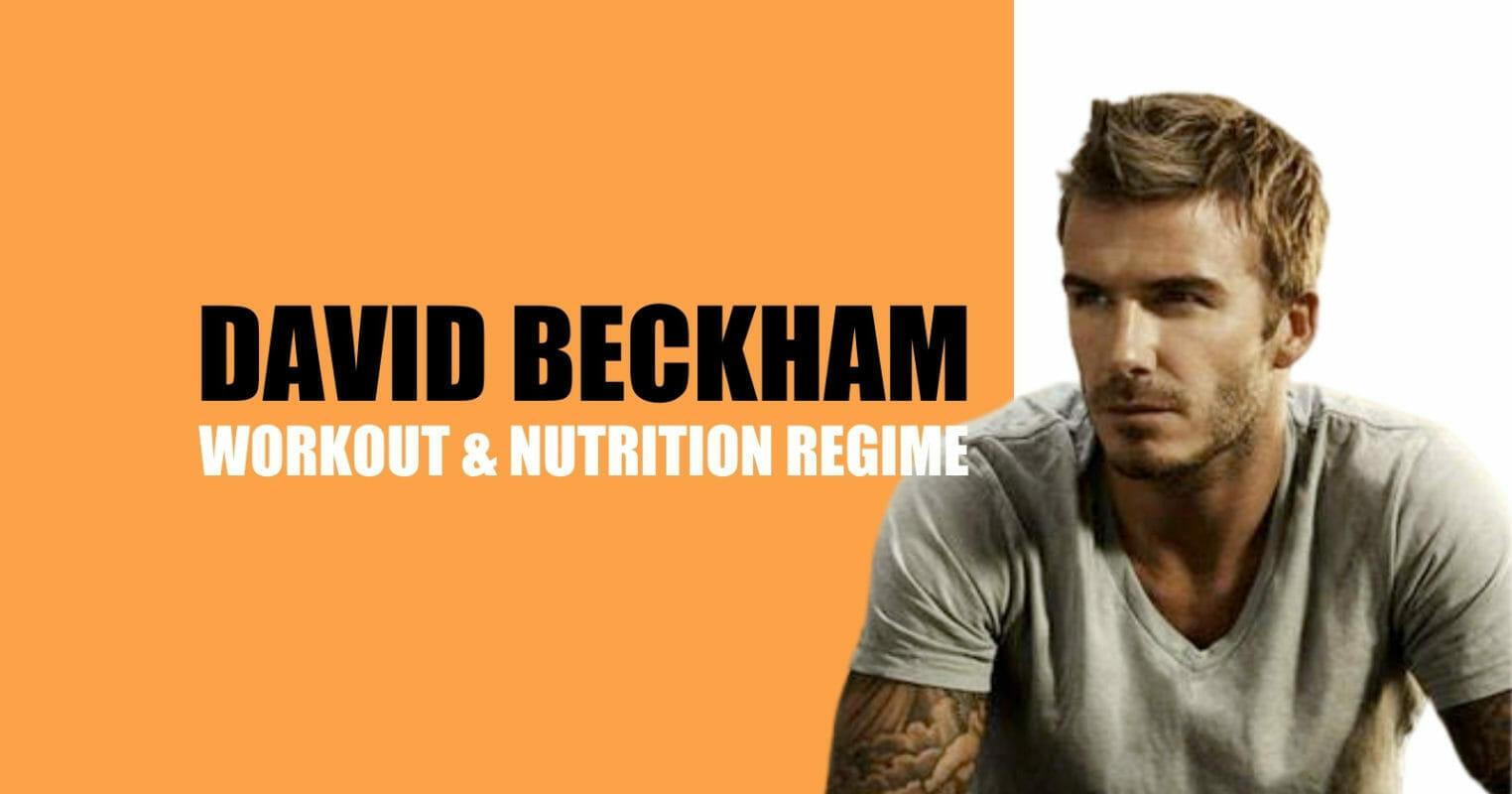 david beckham workout routine