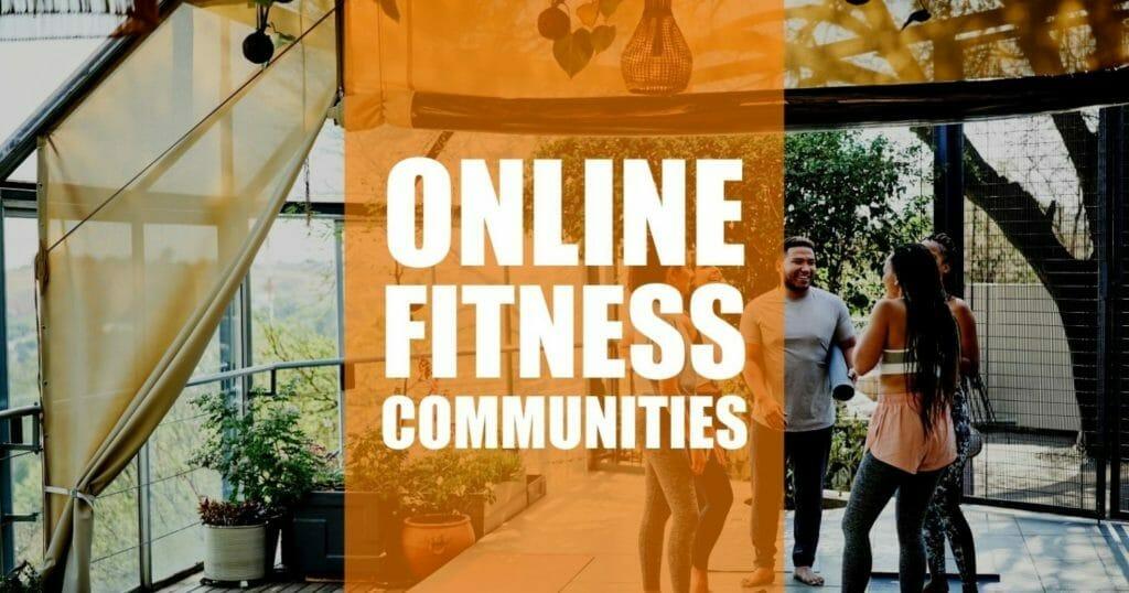 online fitness communities