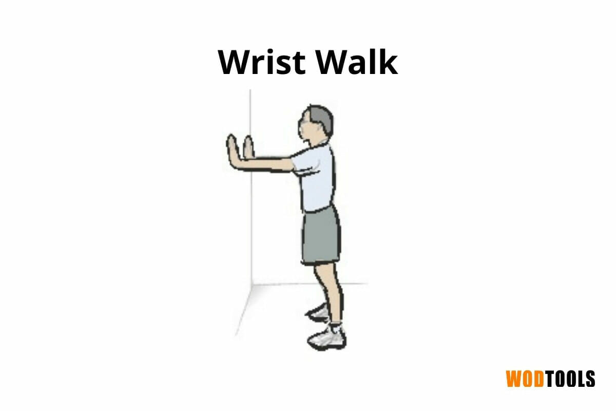 wrist walk exercise